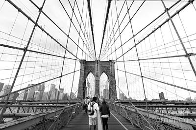 Brooklyn Photograph - Web Of Love by Andrew Serff