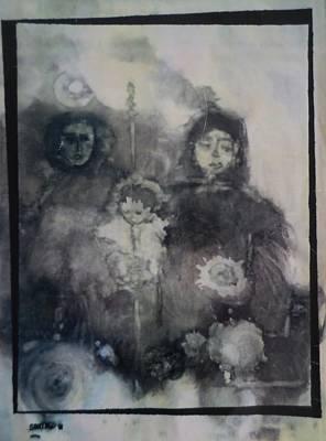 Painting -  Troyka by Adalardo Nunciato  Santiago
