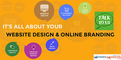Development Mixed Media - Website Monster A Top Website Designing Company In India by Manoj Negi