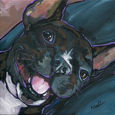 Webster Art Print by Nadi Spencer
