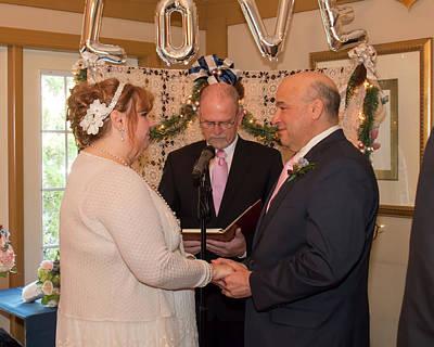 Photograph - Wedding 1-1 by Kristia Adams