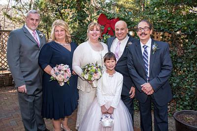 Photograph - Wedding 1-5 by Kristia Adams