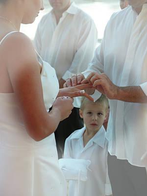 Photograph - Wedding 4 by Elisabeth Dubois