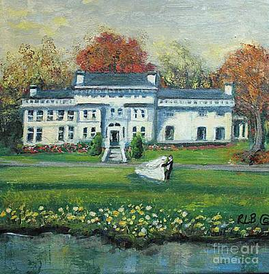 Painting - Wedding At The Lyman Estete by Rita Brown