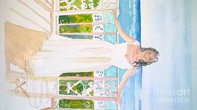 Painting - Wedding At The Ritz In Naples by Jill Morris