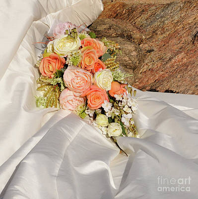 Photograph - Wedding Bouquet 02 by Rick Piper Photography