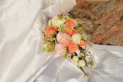 Photograph - Wedding Bouquet 03 by Rick Piper Photography