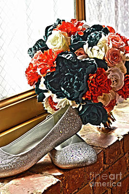 Photograph - Wedding Bouquet by Janice Spivey