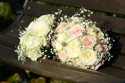 Digital Art - Wedding Bouquet by Tommytechno Sweden