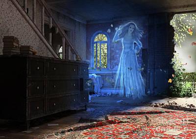 Digital Art - Wedding Calamity by Elle Arden Walby