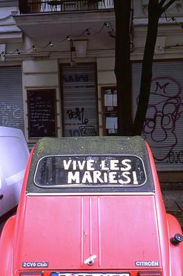 Photograph - Wedding Car by Nacho Vega