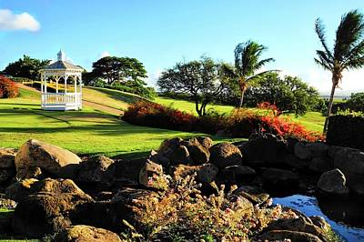 Photograph - Wedding Chapel At Kahili Golf Course by Kirsten Giving