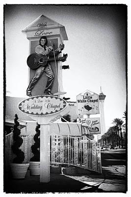 Las Vegas Wedding Photograph - Wedding Chapel by Peter Aitchison
