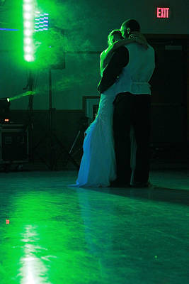Photograph - Wedding Dance by David Ralph Johnson