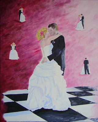 Painting - Wedding Dance by Lisa Rose Musselwhite