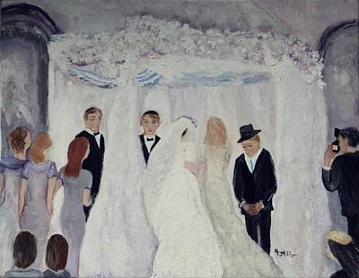 Painting - Wedding Day by Aleezah Selinger