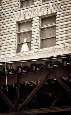 Photograph - Wedding Dress by Niels Nielsen