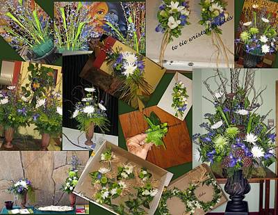 Mixed Media - Wedding Flowers by An Array of Artistry