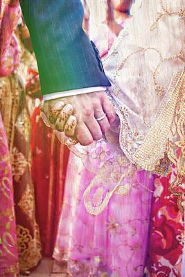Moroccan Photograph - Wedding Hands by Tom Gowanlock