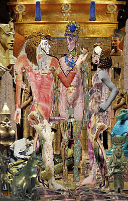 Digital Art - Wedding In Luxor by Doug Duffey