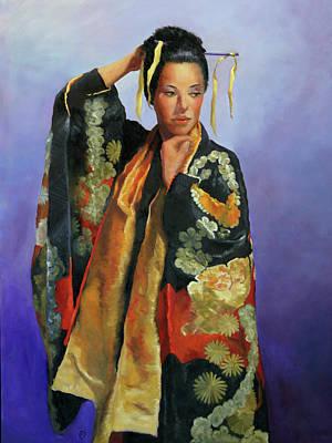 Studio Grafika Zodiac - Wedding Kimono by Rosalie Vaccaro