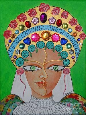 Mixed Media - Wedding March -- #3 Hungarian Rhapsody Series by Jayne Somogy