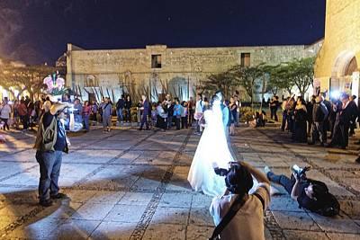 Photograph - Wedding Photographers, Oaxaca 2016 by Chris Honeyman