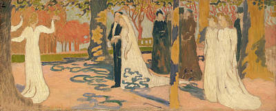 Marriage Painting - Wedding Procession by Maurice Denis
