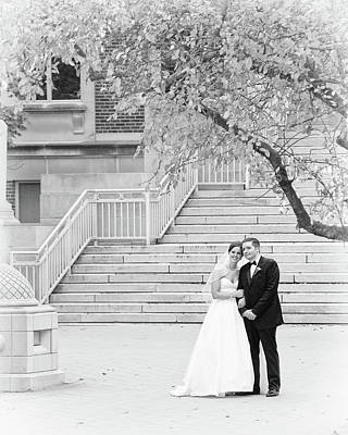 Photograph - Wedding Steps by Coby Cooper