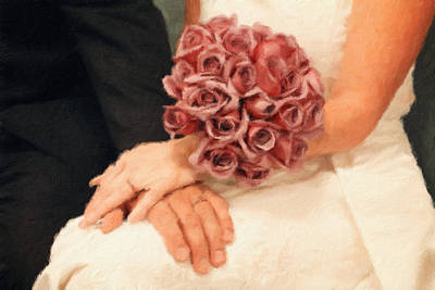 Photograph - Wedding Vows by Jackie Farnsworth