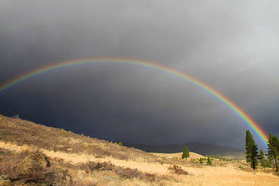 Verdi Photograph - Wednesday Morning Rainbow by Donna Kennedy