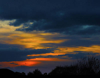Photograph - Wednesday Sunset by Mark Blauhoefer