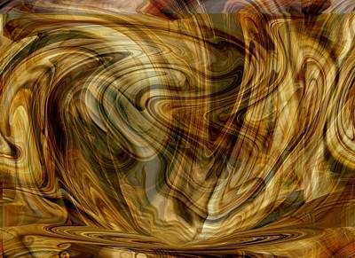 Digital Art - Wednesday Swoop by rd Erickson