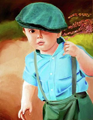 Painting - Wee Laddie  by JoeRay Kelley