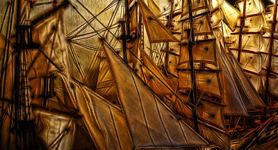 Art Print featuring the photograph Wee Sails by Cameron Wood