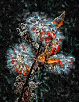 Weed Galaxy Painted Version  Print by Steve Harrington