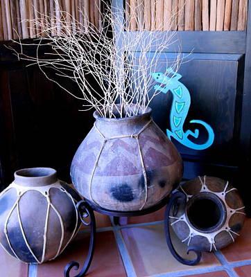 Photograph - Weed Pot 3 by M Diane Bonaparte