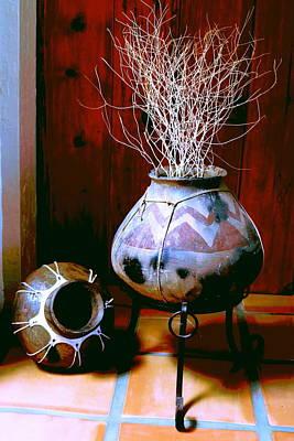 Photograph - Weed Pot 8 by M Diane Bonaparte