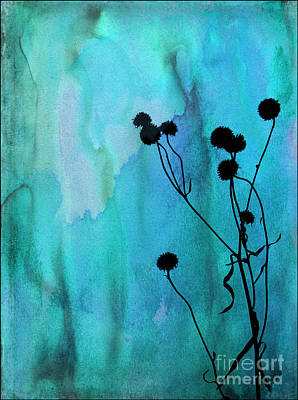 Photograph - Weeds In Watercolor by Judi Bagwell