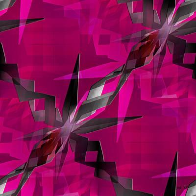 Digital Art - Weeds by Jennspoint
