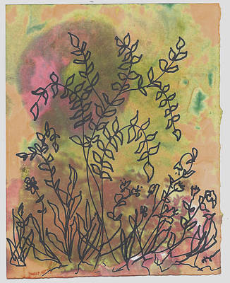 Weeds One Art Print