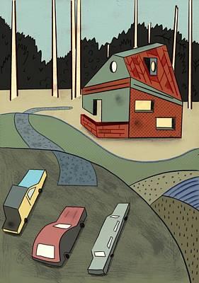 Weekend Painting - Weekend by Benjamin Gottwald