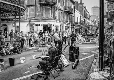 Photograph - Weekend Jazz On Royal St. Nola by Kathleen K Parker