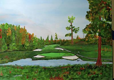 Painting - Weekenhacker Country Club by Jack G Brauer