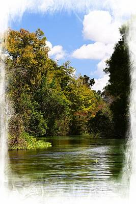 Photograph - Weeki Wachee Autumn 2 by Sheri McLeroy