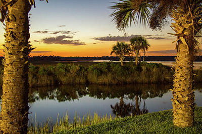 Photograph - Weeki Wachee Sunset by Lamarre Labadie