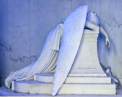 Photograph - Weeping Angel 2 - Nola by Kathleen K Parker