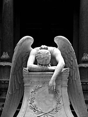 Photograph - Weeping Angel by Brenda Conrad