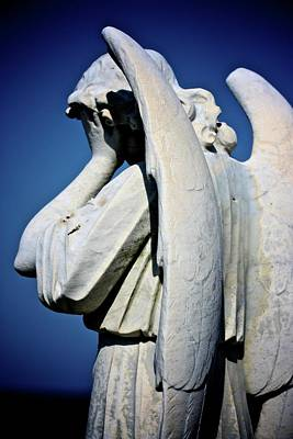 Bondi Beach Photograph - Weeping Angel by KC Moffatt