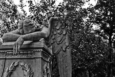 Photograph - Weeping Angel by Nathan Little